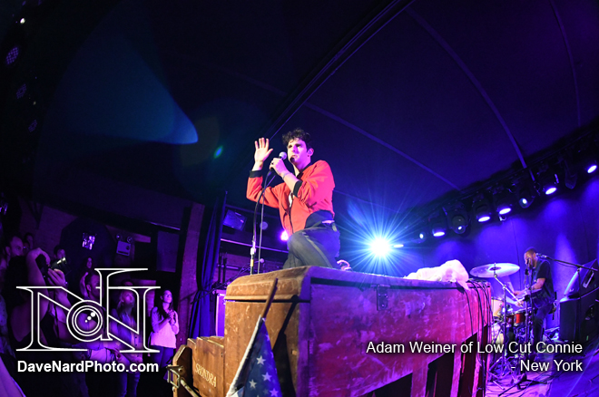 Adam Weiner of Low Cut Connie - New York - David Nardiello Photgraphy