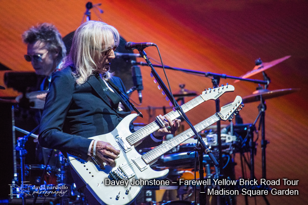 Davey Johnstone – Farewell Yellow Brick Road Tour – Madison Square Garden