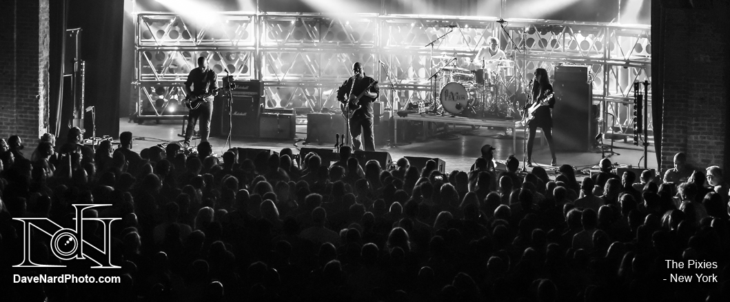 The Pixies - New York - David Nardiello Photgraphy