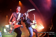 Lzzy Hale and Joe Hottinger - New York - David Nardiello Photgraphy